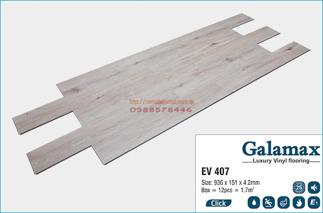 Sàn nhựa Galamax EV407