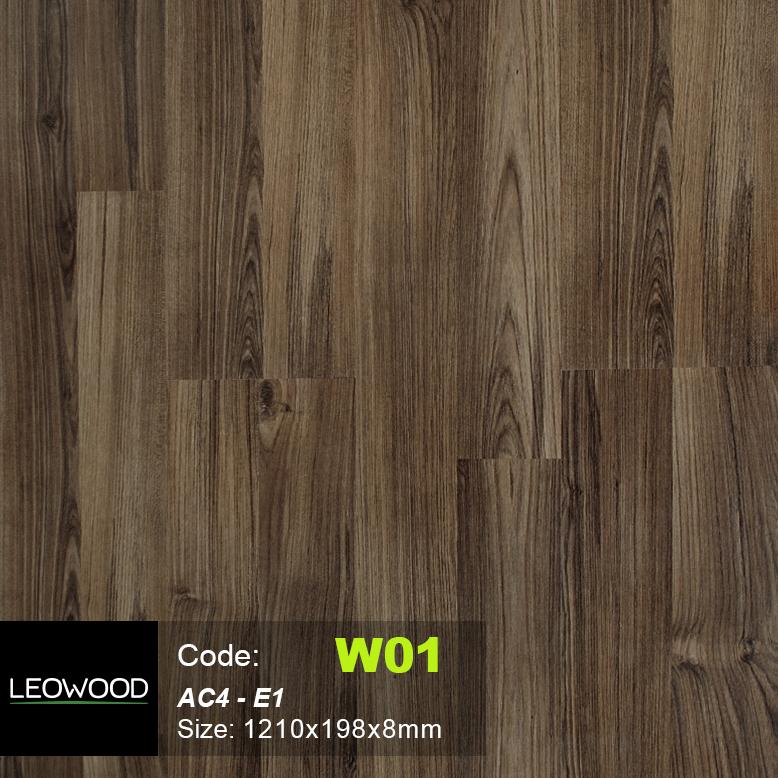 Sàn gỗ Leowood W01 1 - Sàn gỗ Leowood W01