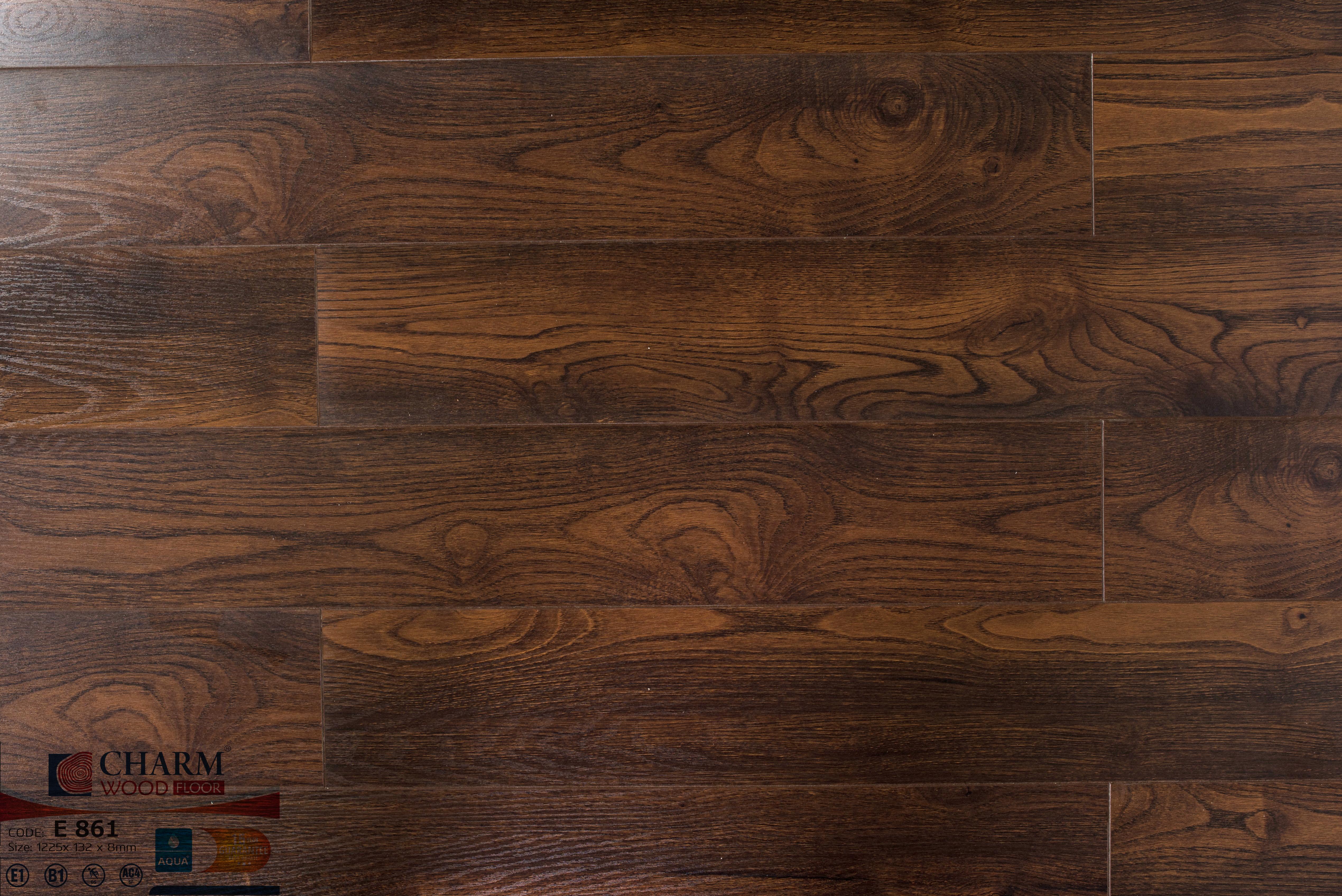 Sàn gỗ Charm wood E861