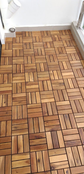 vỉ gỗ tràm - Sàn gỗ ngoài trời