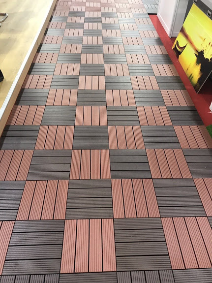 vỉ nhựa 2 - Sàn gỗ ngoài trời