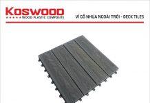 Vỉ nhựa vân gỗ 3D xám